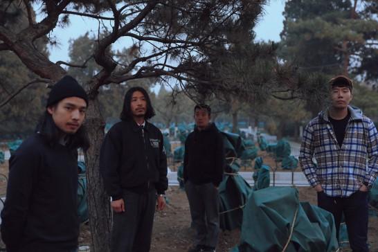 琥珀乐队,2018.摄影:伍子杰