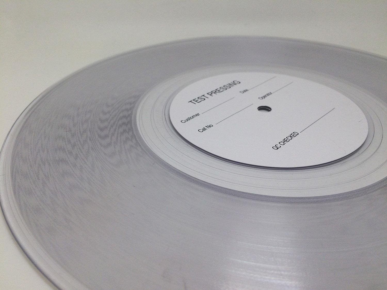 《白噪音》黑胶碟片试样碟