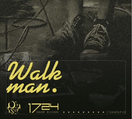 Fayzz单曲Walk man 3寸唱片封面