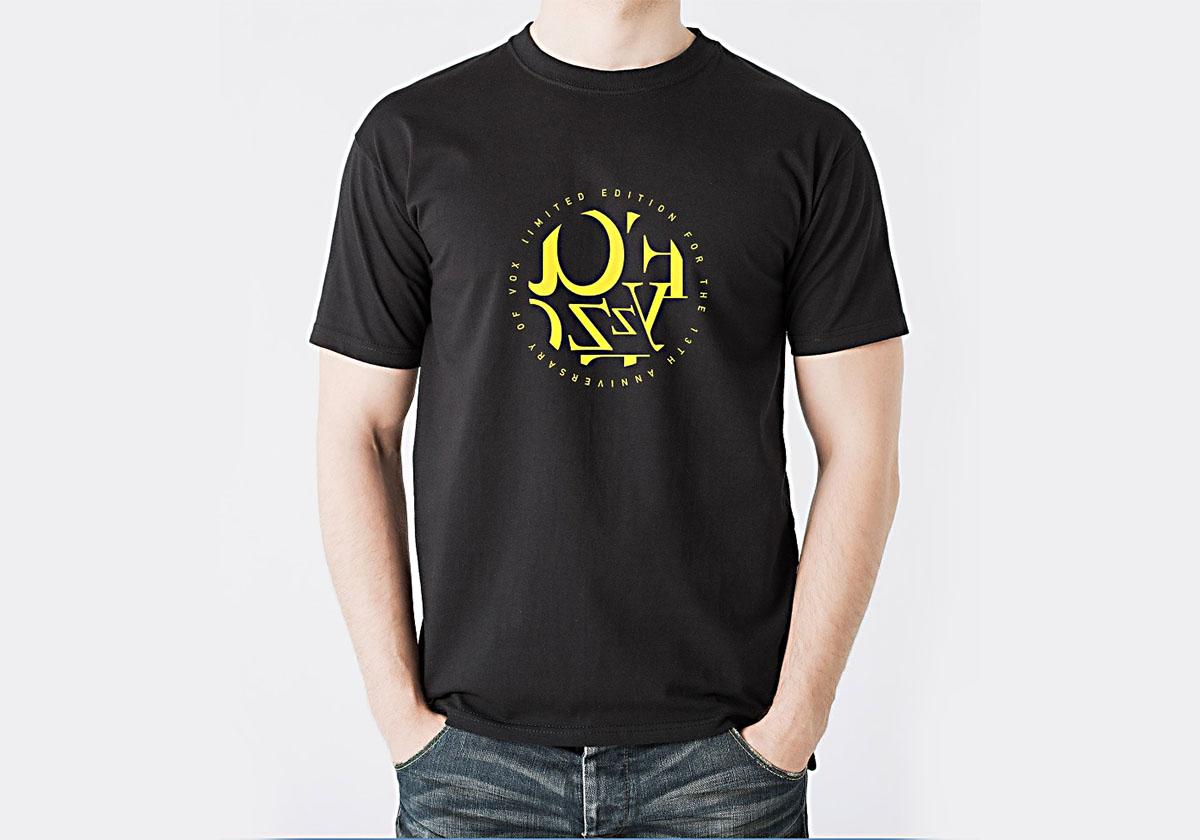 预览图片-Fayzz参加VOX十三周年演出定制款T恤-黑色
