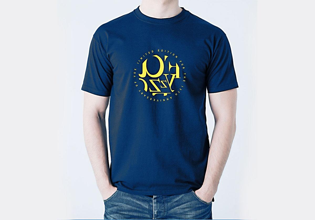 预览图片-Fayzz参加VOX十三周年演出定制款T恤-藏青色